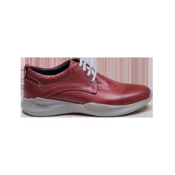 کفش تخت و طبی زنانه دریچی مدل 5494 - رنگ زرشکی - فروشگاه اینترنتی لومنز تبریز