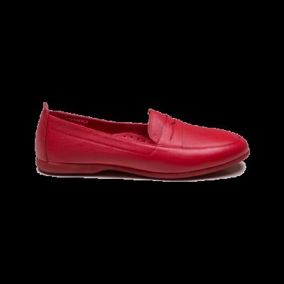 کفش تخت و طبی زنانه دریچی مدل 5426 - رنگ قرمز - فروشگاه اینترنتی لومنز تبریز