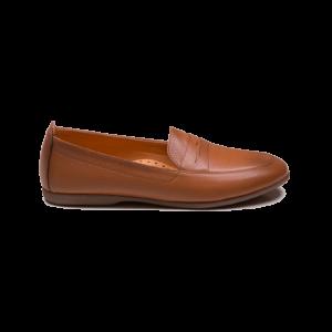 کفش تخت و طبی زنانه دریچی مدل 5426 - رنگ عسلی - فروشگاه اینترنتی لومنز تبریز